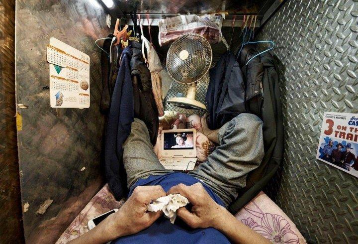 Квартири-коробочки в Гонконзі (фото)