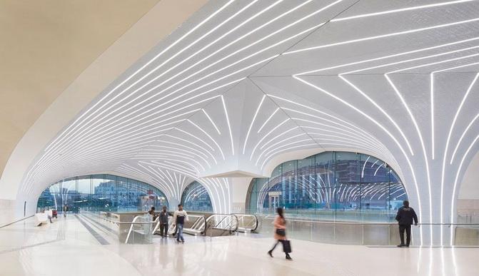 Найсучасніше безпілотне метро в світі - в столиці Катару (фото)