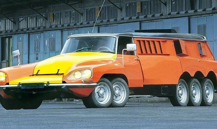 10-колісний автомобіль: для чого його було створено (фото)
