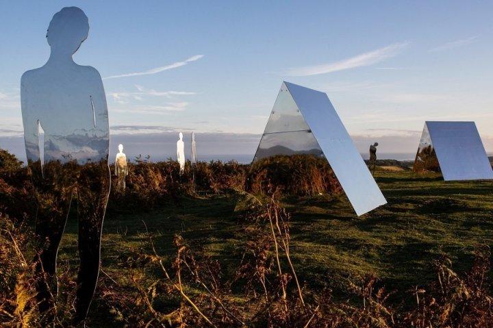 Лісові скульптури-примари Роба Малхолланда (фото)