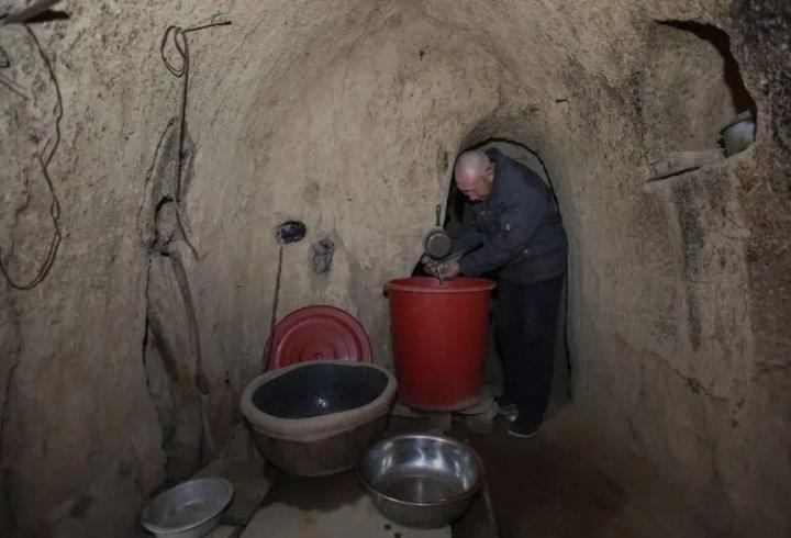 Підземні селища Китаю (фото)