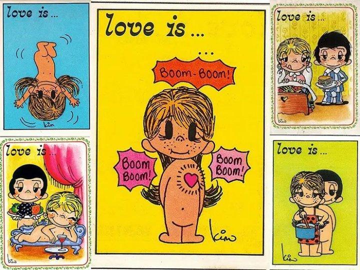 «Love is...» Історія створення милих коміксів про кохання