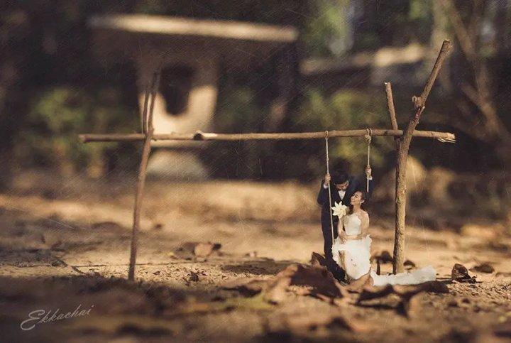 Весільний фотограф перетворює молодят в ліліпутів (фото)