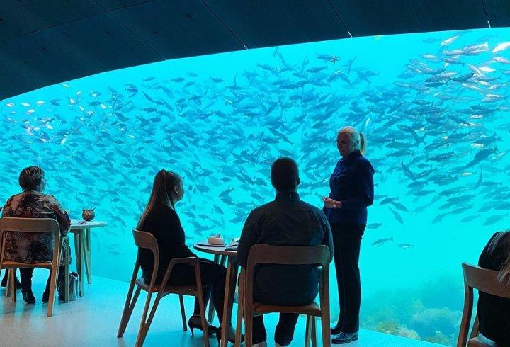 Ресторан Under - перший в Європі підводний ресторан (фото)