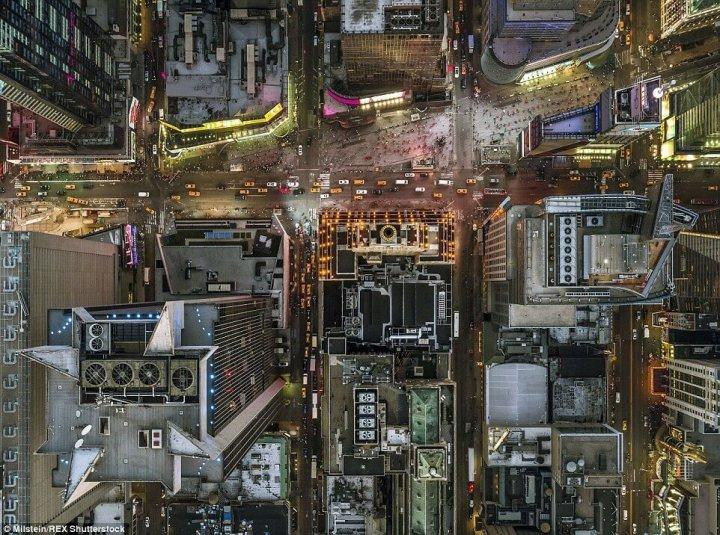 Нью-Йорк з висоти пташиного польоту (фото)