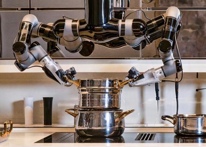 Moley - перший робот-кухар зайняв своє місце на домашній кухні (фото)