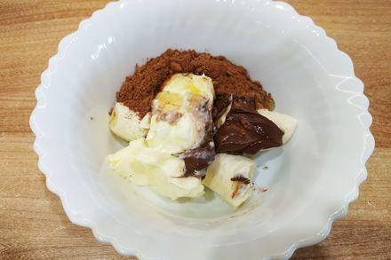 Шоколадно-банановий фадж