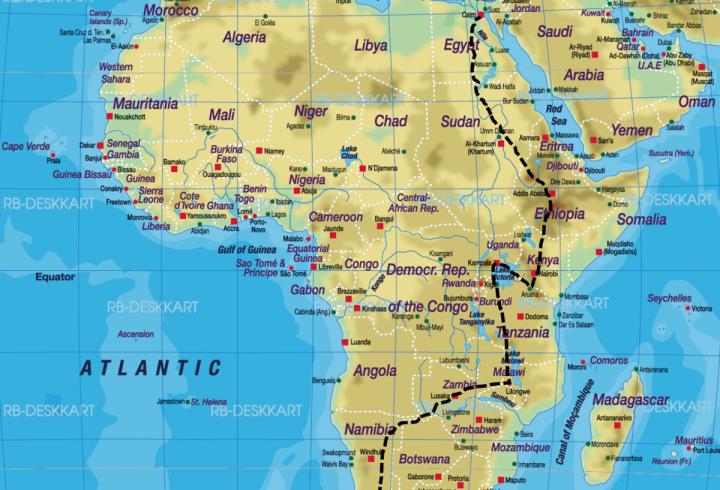 Залізниця Кейптаун - Каїр. Грандіозний проект, який так і не закінчили