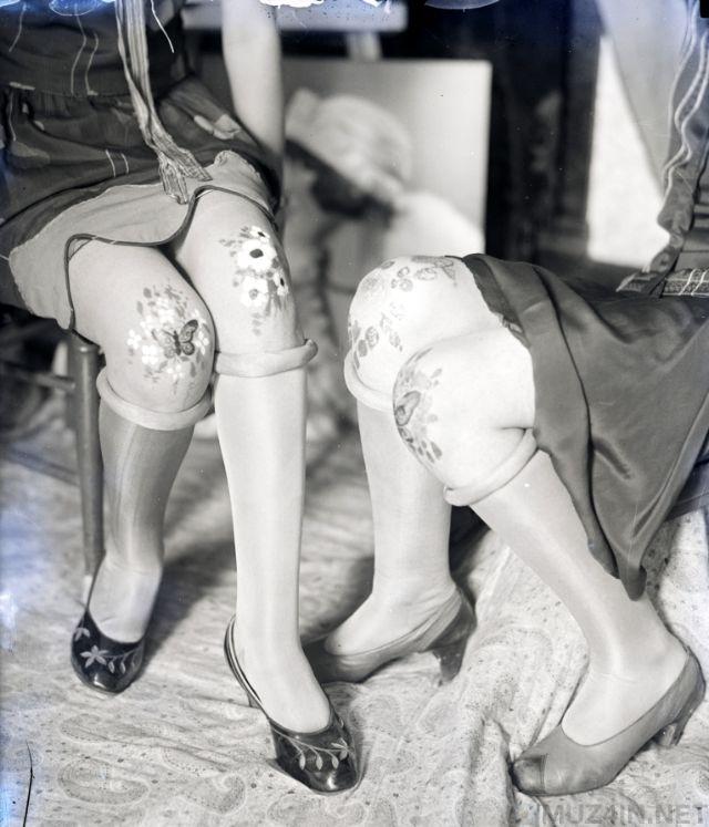 Розмальовані коліна: забутий модний тренд 1920-х років (фото)