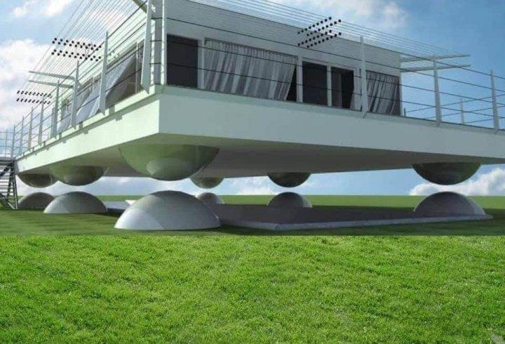 В Японії створили літаючий будинок