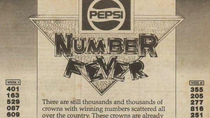 Одного разу Pepsi помилково випустила 600000 кришок з призом 1 млн на кожній. Переможці зібралися і пішли забирати гроші