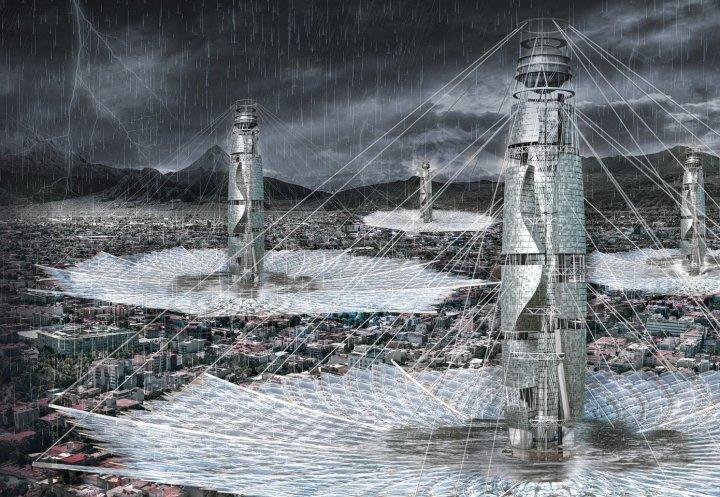 Українські архітектори перемогли в міжнародному конкурсі хмарочосів eVolo-2021 з проектом «Живий хмарочос для Нью-Йорка» (фото)