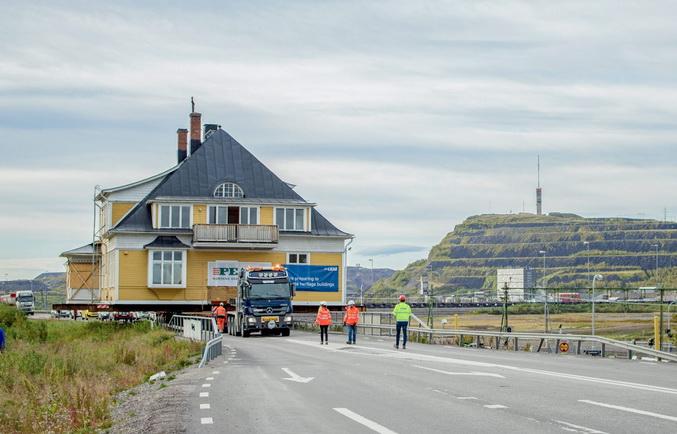 Шведське місто Кіруна повністю переїжджає на 3,2 км на схід (фото)