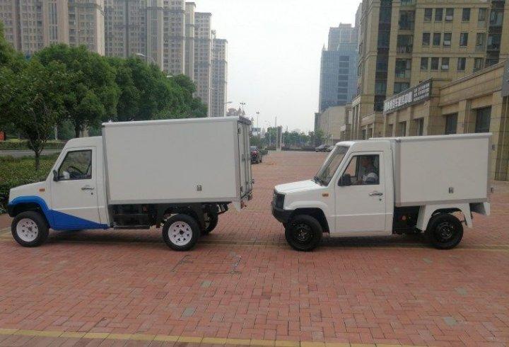 Українська компанія створила компактні електромобілі Konyk і Volyk (фото)