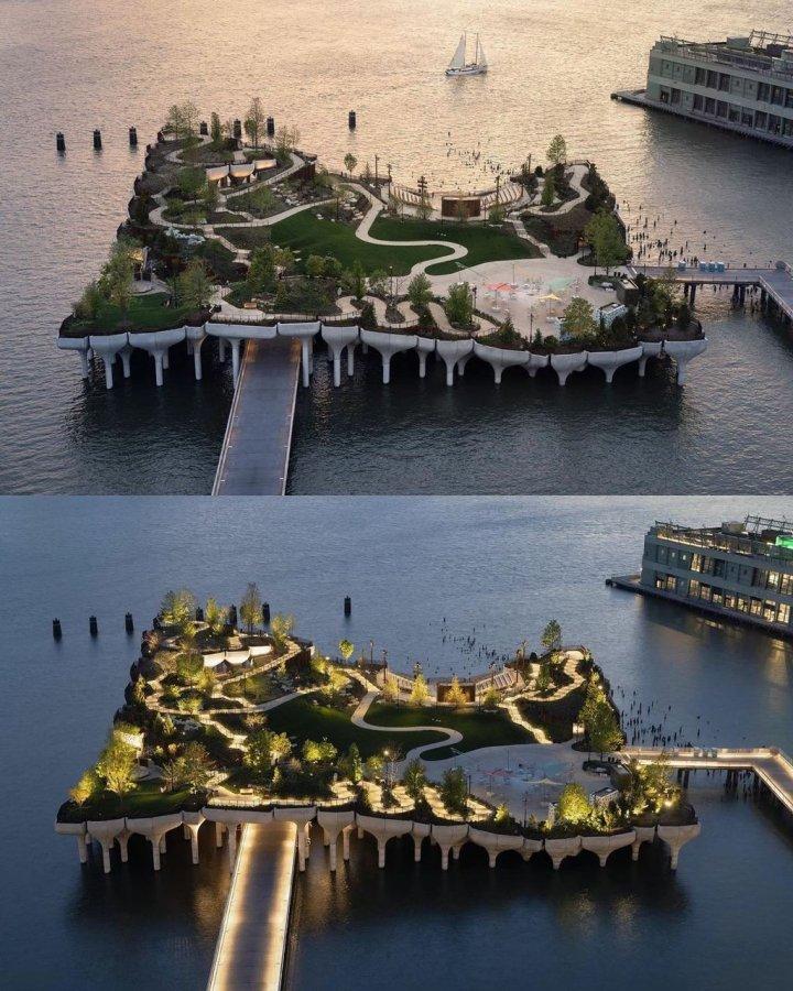 На околицях Манхеттена відкрили новий парк на стовпах (фото)